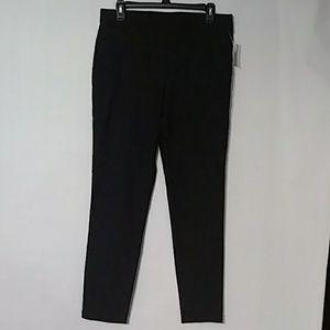Jones New York Pants Sz L Black NWT